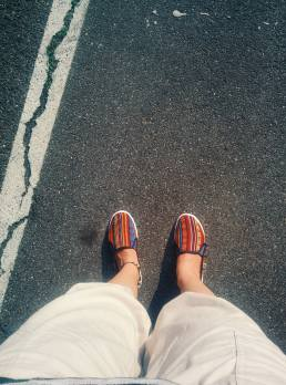 #oldcomshoes - comfortable shoes, and not for summer temperatures.